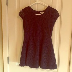 Forever 21 girls navy dress